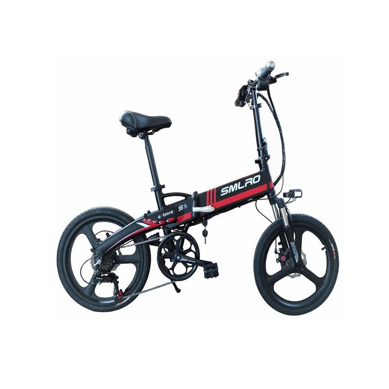 s9 ON SALE September Big sale City Bike Aluminum alloy 6061 Foldable Frame 20 inch electric bicycle 1