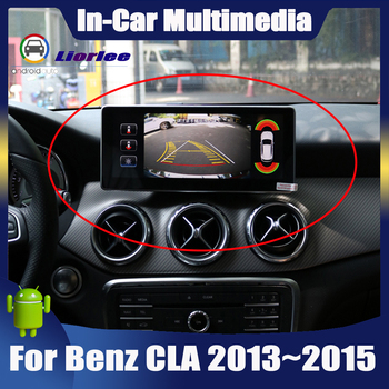 Android System display For Mercedes Benz CLA Class C117 2013~2015 touch screen GPS Navigation stereo radio Car multimedia player image