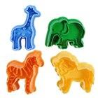 4pcs Animal Plastici...