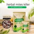10 мешков клещей для удаления клещей, клещей для удаления пыли, контроллер клещей для удаления пыли, травяные листья полыни
