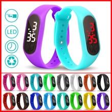 Led Sport Kids Watch Men Women PU Bracelet Kids Watches Electronic Wristwatch For Boys And Girls Digital Clock Reloj Nino