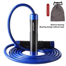 Crossfit Speed Skipping Rope Tangle-Free Adjustable Length Jump Ropes Fitness Skip Workout Training Skip Ropes Fitness Equipment 1pc jump skipping ropes professional sponge skipping aerobics fitness adjustable speed counting skipping home fitness equipment