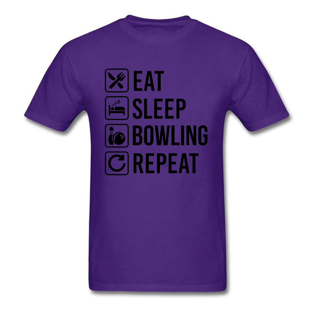 Eat Sleep Bowling Repeat_purple