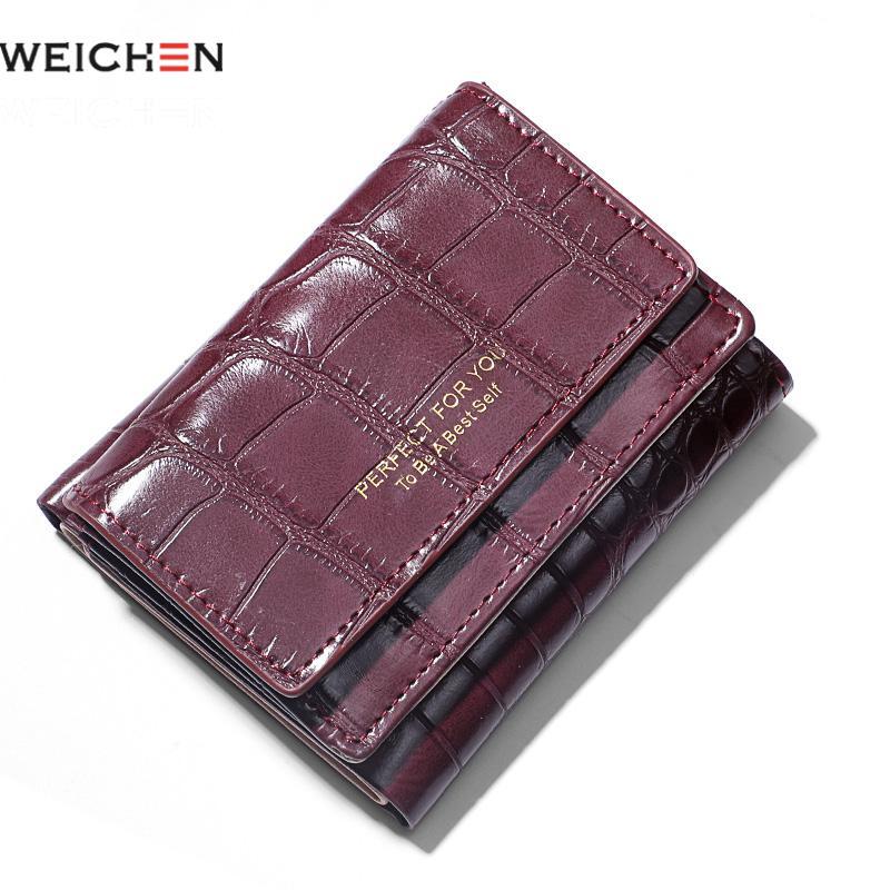 Weichen Alligator Small Wallet Women Synthetic Leather Mini Women Purses Carteira Portfel Ladies Coin Purse Pocket Girl Wallet