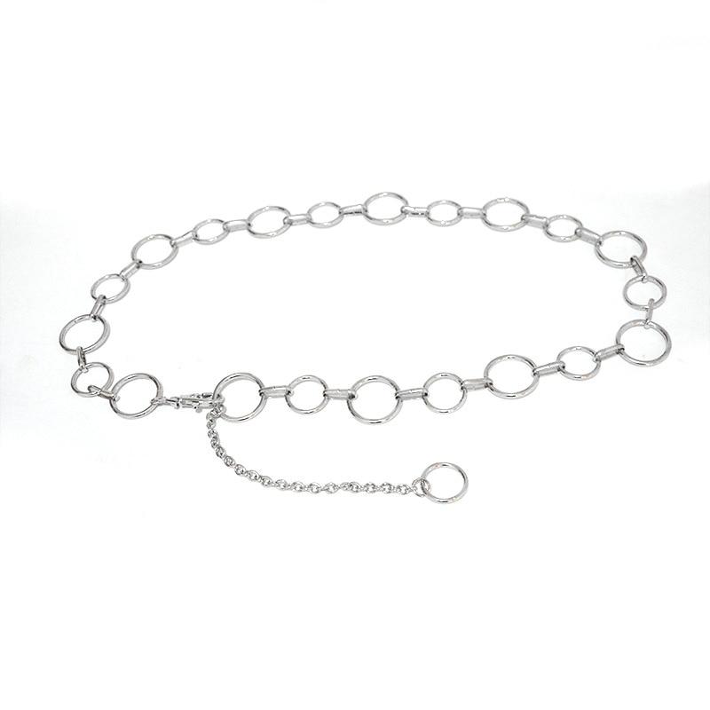 Luxury Brand Desinger 2020 New Size Ring Ladies Belt Fashion Metal Waist Chain Elegant Temperament Body Chain Belt Bg-1504