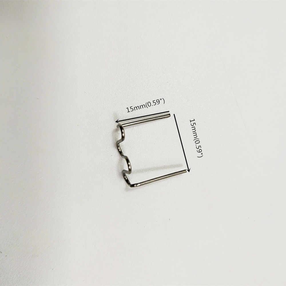 100 szt. 0.8mm termiczna zszywki termo zestaw naprawczy na gorący zszywacz zderzak Auto