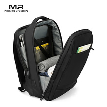 Mark Ryden Anti thief USB Backpack Male 15.6 inch laptop Bags for Men Multi layer School Bag Male Travel Mochila
