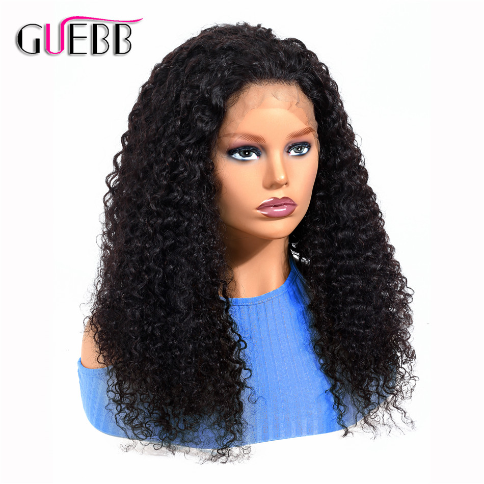 Brazilian Kinky Curly Human Hair 13 4 Lace Front Wigs For Black Woman Remy Natural 10