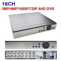 Jienuo ahd dvr 16ch 5mp 4mp 1080n 720 p vídeo vigilância segurança cctv gravador híbrido para analógico ahd cvi tvi ipc|gravador de vídeo de vigilância| |  -