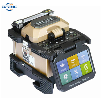 Top Quality AV6481 Touch screen Automatic FTTH Optical Fiber Fusion Splicer , 7s fast splicing AV6481 Splicing Machine фото