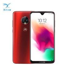 Мобильный телефон Motorola Moto G7 Plus Android 9, 6,24 дюймов, 16 МП, двойная камера заднего вида, 4 ГБ/6 ГБ, 128 ГБ, восьмиядерный смартфон Snapdragon 636, 4G