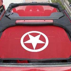 Image 2 - Shinekaトップサンシェードメッシュ車カバー屋根uvプルーフ保護ネットジープラングラーjk 2 ドアと 4 ドア車アクセサリースタイリング