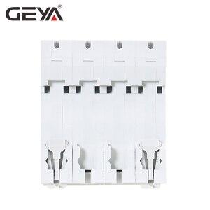 Image 4 - GEYA MCB DC 1000V MCB Mini Circuit Breaker DC 6A 10A 16A 20A 25A 32A 40A 50A 63A 4 Poles IEC60947