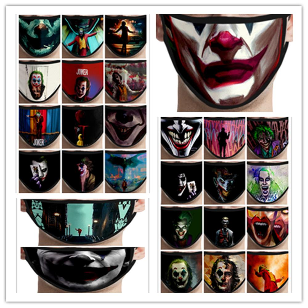 Batman Joker Face Mask Cosplay Costume Accessories The Dark Knight Heath Ledger Mascarillas Masks
