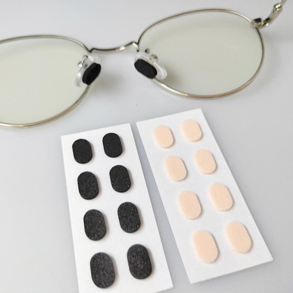 4 Pairs Unisex Soft Foam Nose Pad Self Adhesive Anti-Slip Eyeglass Sunglasses Nose Pads For Men Women Eyewear Accessories