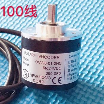 100 impuls AB faza przemysłowy fotoelektryczny przyrostowy enkoder obrotowy 100 linia 100 P 60 linia 60P tanie i dobre opinie TailKuKe Elektryczne 3-cyfrowy Liczniki