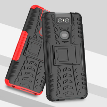 For Asus Zenfone 6 ZS630KL TPU + PC Heavy Duty Armor Back Cover 6z Phone Case  2019