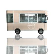 Fabryka cena Electri ciężarówka dostosowane fast food lody żywność przyczepa hot dog owoce mobilny wózek uliczny
