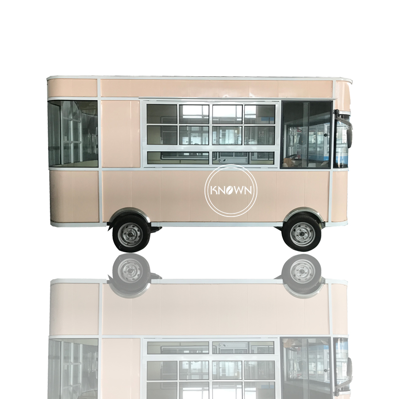 Discount !Factory Price Electri Truck Customized Fast Food Ice Cream Food Trailer Hot Dog Fruits Mobile Street Cart