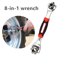 Tiger Wrench 8 in 1 Tools Socket Works with Spline Bolts Torx 360 Degree 6-Point Universial