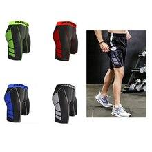 Новинка, быстросохнущие спортивные Леггинсы для спортзала, мужские шорты, шорты для футбола, бега, тренировок, фитнеса, компрессионные колготки, шорты для бега