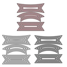 Polygon Basic Frame Label Metal Cutting Dies for DIY Scrapbooking Crafts Die Cut Stencils Card Make Paper Album Template Decor merry christmas trees sticker painting stencils for diy scrapbooking stamps home decor paper card template decoration album