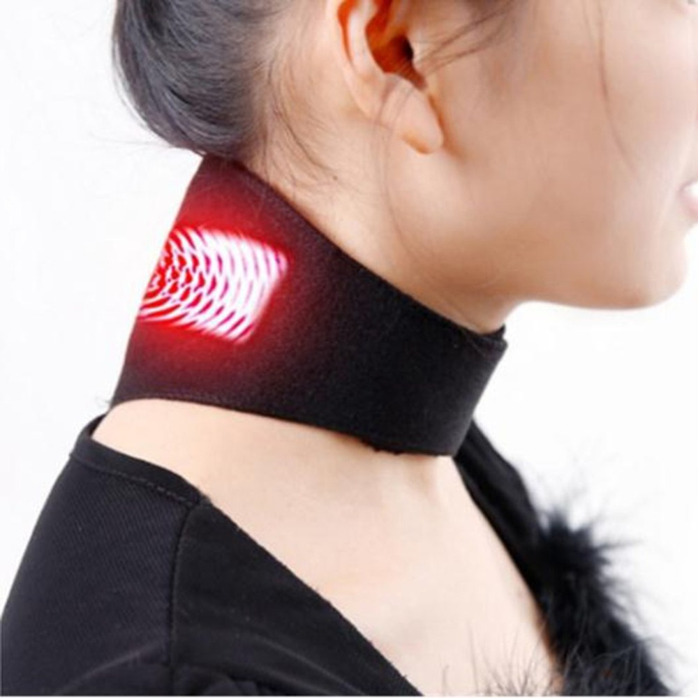 Neck Belt Tourmaline Self Heating Magnetic Therapy Neck Wrap Belt Brace Pain Relief Cervical Vertebra Protect Health Care