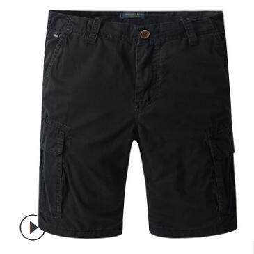 2019 BB130 Summer men's casual pants men's short overalls full cotton multicolor