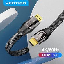 Vention hdmi cabo 4k 60hz hdmi 2.0 macho para macho hdmi divisor interruptor para para ps3/4 pc portátil projetor cabo de áudio hdmi