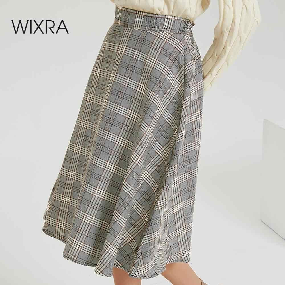 зима осень тренд 2019 wixra модная одежда классические свободные женская мастхэв стильная повседневные гардероб сплошной мини юбка короткая искусственная кожа пу высокая талия завышенная посадка карманы бежевый цвет