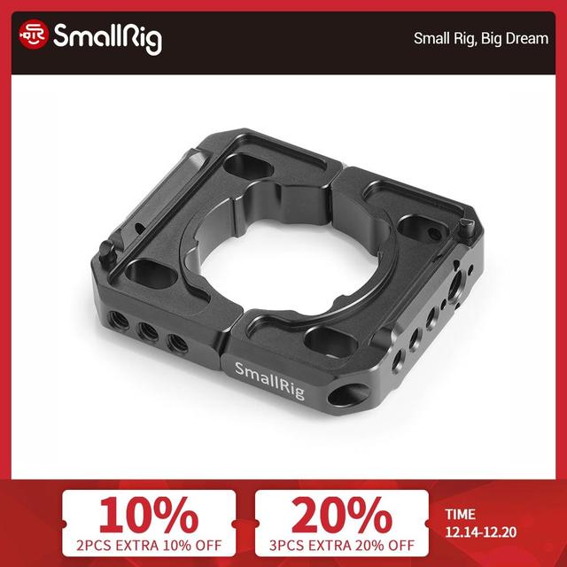 SmallRig Rod Clamp for DJI Ronin S Handheld Gimbal Stabilizing Rod Clamp Plate Mount With 1/4 20 and arri 3/8 Holes  2221
