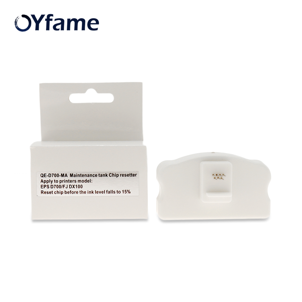OYfame T5820 DX100 resetter for <font><b>epson</b></font> <font><b>D700</b></font> for FuJi DX100 maintenance tank chip resetter for <font><b>Epson</b></font> <font><b>D700</b></font> waste <font><b>ink</b></font> tank resetter image