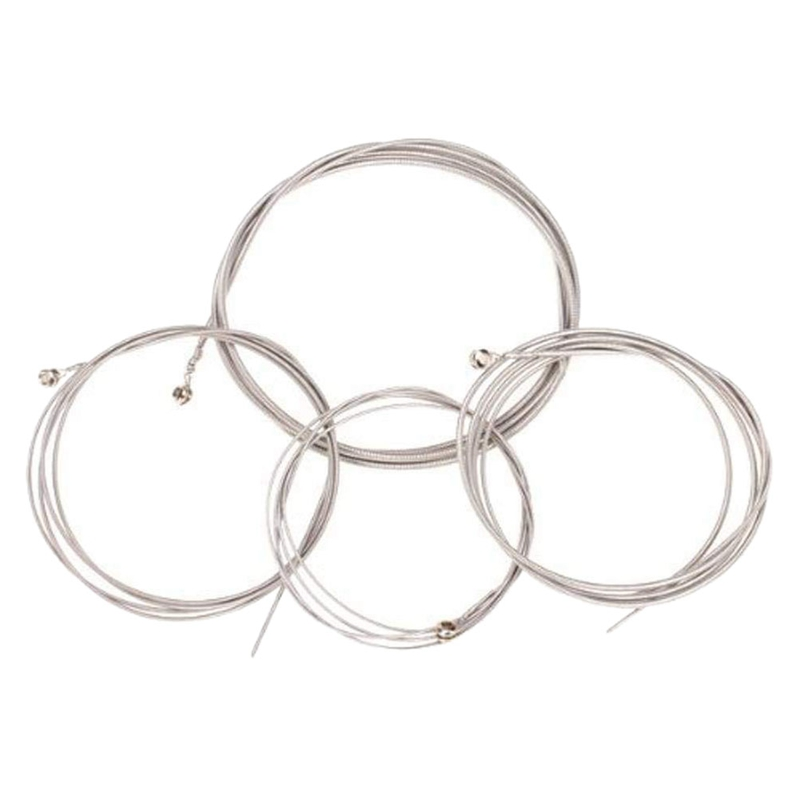 Set Of 4 String Bass Guitar Parts 4 Steel Strings