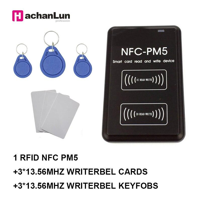 NEW PM3 Reader IC 13.56MHZ RFID Copier NFC Full Writer Decoding Function Card Duplicator
