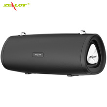 ZEALOT S38 Bluetooth Speaker Portable Outdoor Loudspeaker Wireless Mini Column 3D 10W Stereo Music Surround Support TFCard top mifa portable bluetooth speaker portable wireless loudspeaker sound system 10w stereo music surround waterproof outdoor