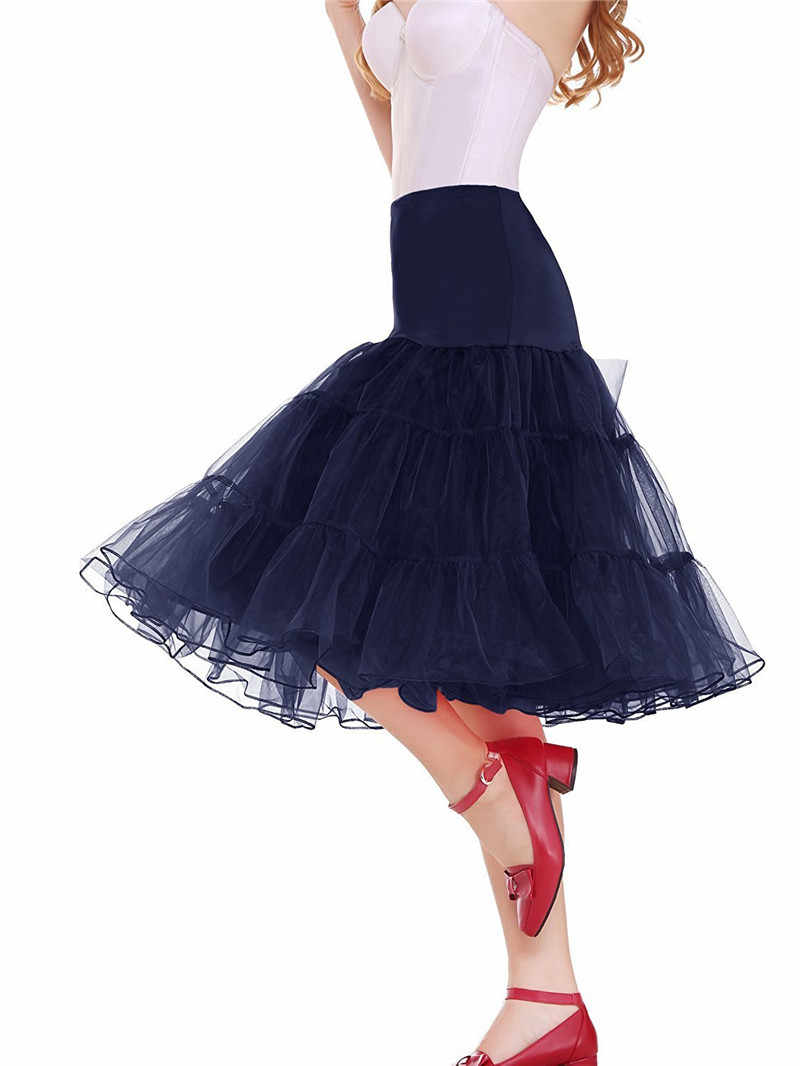 24 Hours for Shipping Free 50s Cosplay Petticoat Rockabilly Dress Crinoline for Woman Wedding Bridal Underskirt Rockabilly Tutu