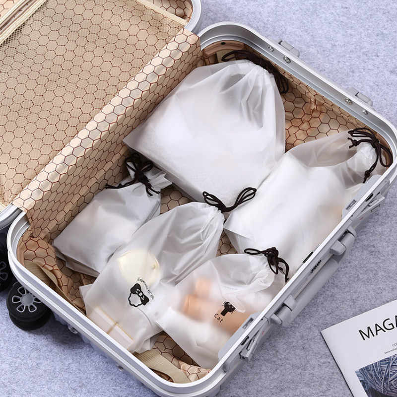 น่ารักโปร่งใสกันน้ำ Travel เครื่องสำอางค์กระเป๋ากรณีแต่งหน้า Bath กระเป๋าใส่เครื่องสำอางค์กระเป๋าใส่เครื่องสำอางค์ล้างความงามชุดเก็บกระเป๋า