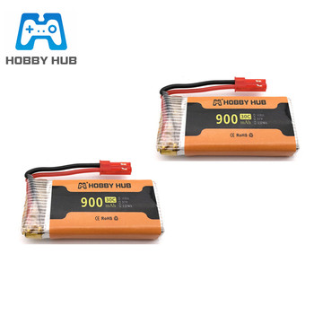 3.7V 900mAh 30c lipo Battery For 8807 8807w A6 A6W Rc Quadcopter Spare Parts Accessories Rc Drones 3.7v battery 902555 jst plug image