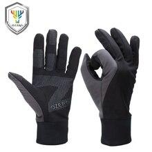 OZERO Gloves Men Women Waterproof Touchscreen Running Gloves Winter Warm Gloves Full Finger 9010