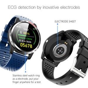 """Image 3 - W3 1.3 """"ספורט חכם שעון אק""""ג HRV SPO2 צמיד שעון לחץ דם חמצן קצב לב צג חכם צמיד כושר tracker"""
