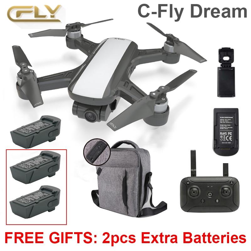 C FLY Dream RC Camera Passport Drone Mini Selfi Helicopter Quadcopter PK DJI Spark Mavic pro Camera Drone