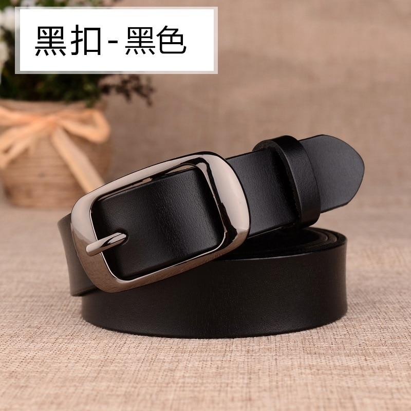 2020 female Buckle Ladies Belts Strap Students Belts for Women Leather Belts For Women luxury designer brand Belt 3