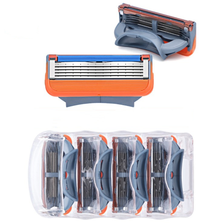 4pcs/lot Razor Blades 5 Layer Blades Shaving For Power Shaver Blades For Proglide Machine