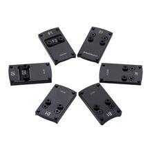 7 pçs frente vista pós corpo sortimento substituição kit de aço vista configurações caça tático acessórios espingarda