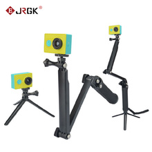 JRGK GoPro 3-Way Monopod ArmMount regulowany wspornik stojakowy uchwyt ręczny 3 Way statywy do Hero 4 3 + 3 SJ4000 SJ5000 akcesoria tanie tanio Z włókna węglowego Kamera wideo Działania Kamery 360 ° Kamera Wideo Specjalna Kamera Smartfony Elastyczny statyw 32mm