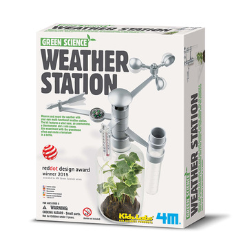 DIY STEM Children's Toys Education Science Experiment Technology Toy Set Weather Station Model Physics Experiment Kid's Toys flashlight lab toy education series physics generator children experiment circuit teaching science projects for kids stem toys