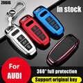 ZOBIG voiture clé couverture clé étui protecteur coquille décoration voiture accessoires pour Audi A6 C8 A7 A8 D5 2018 2019