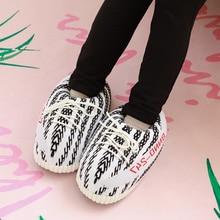 Women Slippers HOT SALE Slipper Foam Sneakers Winter Warm Shoes Bread Fat Indoor Snug Sneaker House Floor Slides