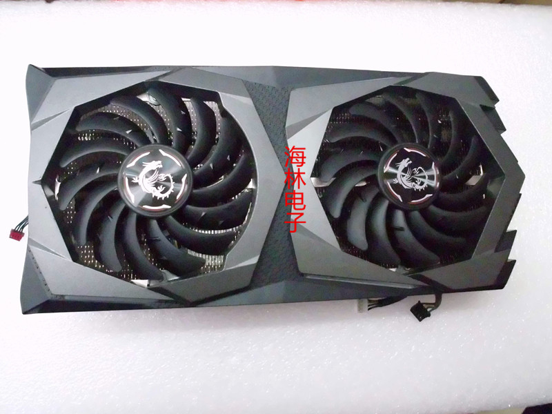 Original for MSI <font><b>GeForce</b></font> RTX 2060 Super GAMING X Graphics Video card cooler fan with heat sink image