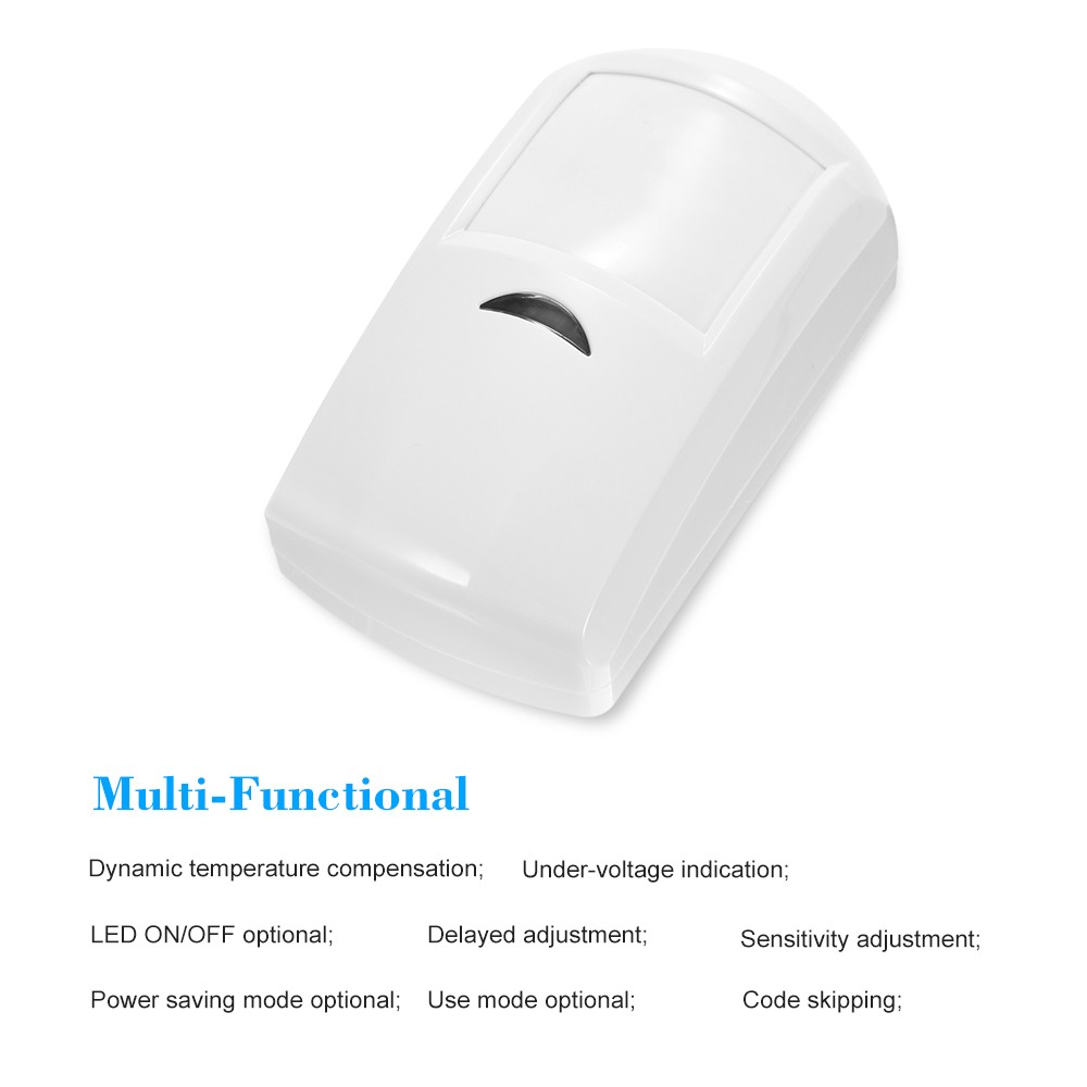 Wireless Passive Infrared Detector PIR Motion Sensor For 433MHz Wifi/GSM Infrared PIR Motion Sensor Swich